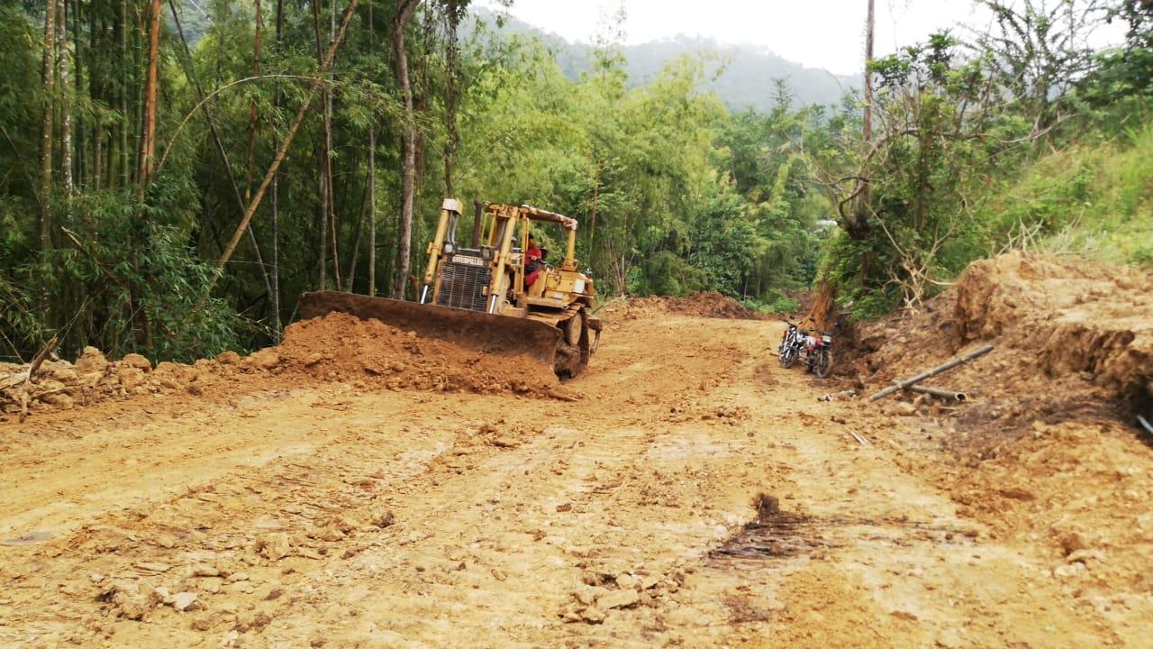 Vía a Bejuco Chico 2